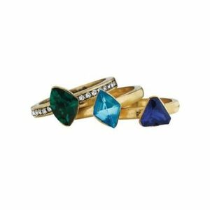Chloe + Isabel Rocco Stackable Ring Emerald  Ring